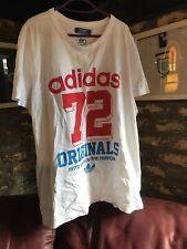Adidas Originales 72 años de la Trébol Camiseta Camiseta 1972 XL Extra Grande