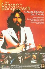 "George Harrison ""Bangladesh"" U.S. Promo Poster -Beatles, Clapton, Dylan, Shankar"