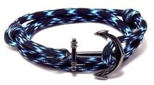New Listing Anchor Bracelet Nautical Paracord Men Women Fashion Adjustable Hand Made Usa