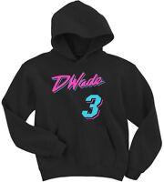 "Dwyane Wade Miami ""Miami Vice City"" HOODED SWEATSHIRT"