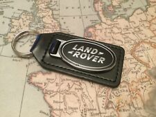 LAND ROVER COLLECTABLE BN REAL LEATHER GENUINE DEFENDER BLACK CHROME RANGE