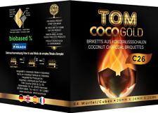 TOM Cococha Gold C26 | 1kg | Shisha Kohle | Natur Kohle Kokoskohle