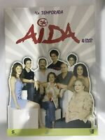 AIDA TEMPORADA 4 CUARTA COMPLETA 4 DVD - 14 CAPITULOS PACO LEON - AM