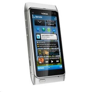 Origina Nokia N Series N8-00 - 16GB Silver(Unlocked) Smartphone 12 MP WIFI GPS