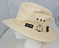 Original Panama Jack Men's Canvas Hat Sz M Made in USA