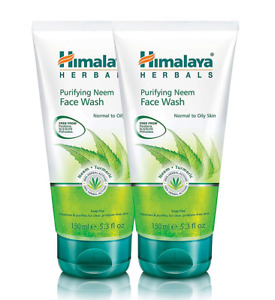2 x Himalaya, Purifying Neem Face Wash, Normal to Oily Skin,150 ml,Fast Delivery