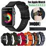 Für Apple Watch Series 5 4 3 2 1 Nylon Ersatz Band Armband iWatch 38/42/40/44mm