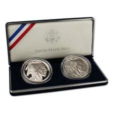 2001 US American Buffalo 2-Coin Commemorative Set