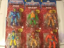 LOT 2020 Masters of the Universe Origins Wave 1 Complete Set He-Man MOTU Retro?