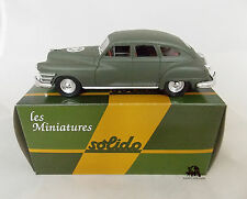 Miniature Collection Métal SOLIDO Militaire Chrysler Windsor USA 1/43e Diecast
