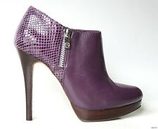 new MICHAEL KORS 'York Bootie' purple leather platforms ANKLE BOOTS 5 - sexy