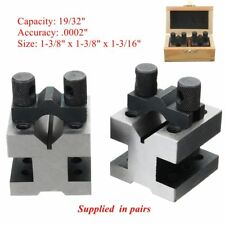 "1-3/8"" x 1-3/8"" x 1-3/16"" V-Block V Blocks Hardened Pair .0002"""