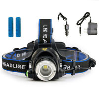 5000LM LED Flashlight Headlamp Headlight 18650 Head Lamp Camping Light Lanterns