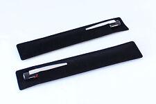 10 pcs Black Velvet Pen Case Pouch Sleeve Holder  Stylish Pencil Presentation