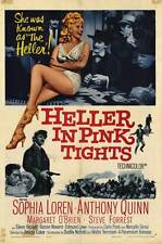 HELLER IN PINK TIGHTS Movie POSTER 27x40 Sophia Loren Anthony Quinn Margaret