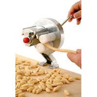 New Spaghetti Pasta Cavatelli Maker Fettuccine Noodle Press Machine