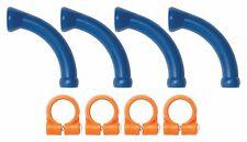 "(4) 1/4"" Extended Elbows & Clamps Loc-Line® USA Original Modular System #40474"