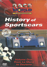 History Of Sports Cars       nieuwe dvd in seal  RACE WOLRD