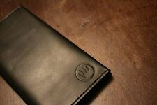 Leather Business Travel Wallet Passport Holder Card Protector Organizer Case