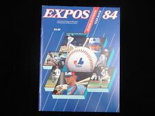 1984 Montreal Expos Yearbook