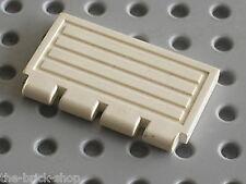 LEGO TRAIN white hinge gate 2873 / set 4560 6545 4561 6636 6543 6458 6336 ...