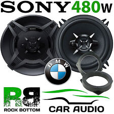 BMW Mini R50 2001 - 2006 SONY 13cm 480 Watts 3 Way Front Door Car Speaker Kit