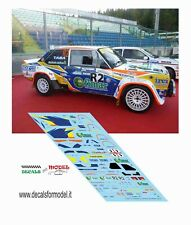 DECALS FIAT 131 ABARTH DIANA RALLY LEGEND 2016