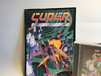 Super Star Dust Commodore Amiga CD32 game with manual