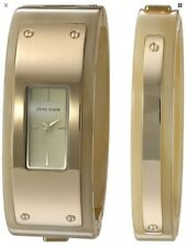 Anne Klein Women's Quartz Metal and Resin Dress Watch, Color:Beige (Model: AK/28