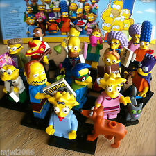 LEGO 71009 THE SIMPSONS Minifigures SERIES 2 COMPLETE SET 16 NEW SEALED Minifigs