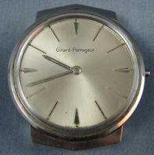 Vintage Girard Perregaux Stainless Steel Manual Wind Mens Watch  for Repair
