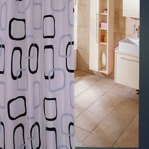 Shower Curtain Mildew-Free Polyester Fabric Waterproof fast & Free shipping post
