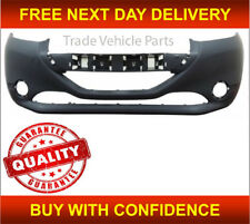 PEUGEOT 208 2012-2015 FRONT BUMPER PRIMED NO PDC NEW INSURANCE APPROVED