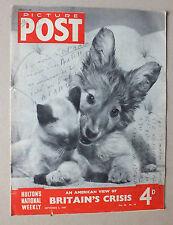 ANCIEN MAGAZINE - PICTURE POST - N° 10 VOL. 36 - 6 SEPTEMBRE 1947 *