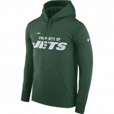 Nike NFL New York Jets Therma Dri-Fit Green Hoodie Sweatshirt 837724-323 Size L