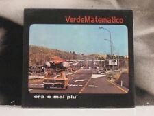 VERDEMATEMATICO - ORA O MAI PIU CD NEAR MINT VERDE MATEMATICO URTOVOX 2001