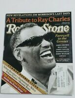Rolling Stone Magazine A Tribute to Ray Charles Double Issue 07/08/04