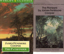 Complete Set Series - Lot of 5 Leatherstocking Tales by James Fenimore Cooper