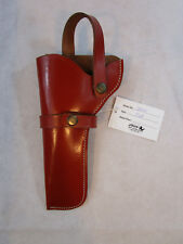 WESTERN LEATHER HOLSTER RUGER GP100 COLT KING COBRA GUN REVOLVER CASE COVER