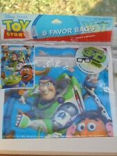 Disney Pixar Toy Story Buzz Lightyear Woody Party Favor Bags 8 Count NEW