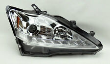 Lexus IS250 IS350 2006-2008 Projector LED DRL Turn Strip Headlights Chrome Clear