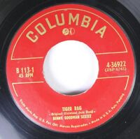 50'S & 60'S 45 Benny Goodman Sextet - Tiger Rag / Ain'T Misbehavin' On Columbia