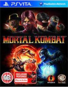 Mortal Kombat - PS VITA Game. *** Cartridge Only ***  Fast Dispatch !!