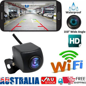 150° WiFi Wireless Car Rear View Backup Reverse Camera For Android IOS