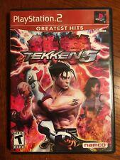Tekken 5 Greatest Hits Sony PlayStation 2 Namco 2005