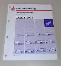 Werkstatthandbuch Mitsubishi Colt CJo Nachtrag Elektrik Schaltpläne Baujahr 2001