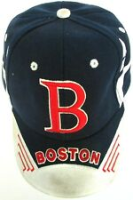 Boston Red Sox Baseball Cap Hat Strapback Bay State Apparel Red White Blue