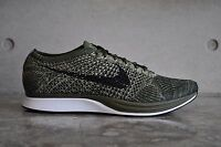 """Nike Flyknit Racer """"Rough Green"""" Olive - Rough Green/Black"""