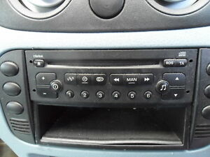 CITROEN C3 2004 CD HEAD UNIT WILL BE CODED TO YOUR CAR
