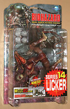 Resident Evil Licker Action Figure Moby Dick Series 14 with Nemesis Type 3 Part
